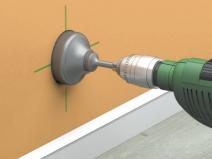 коронка по бетону для монтажа розеток