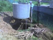 как установить септик из бетона