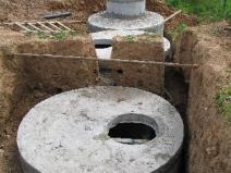 бетонный септик для канализации