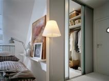Спальни со шкафом купе
