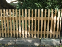 штакентник из деревянных реек