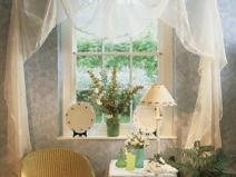 красивые шторы на кухонное окно