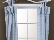 оригинальные шторы на небольшое окно