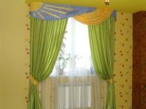 универсальные шторы для детской комнаты