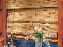 бамбуковые шторы для кухни