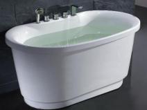 Встроенный смеситель для душа в ванной