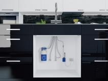 смеситель для кухни с фильтром