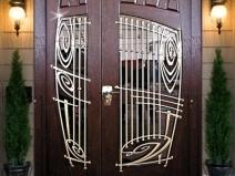 элитные двери из массива сосны