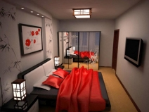 Китайские спальни фото