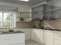 керамическая мозаика в кухне