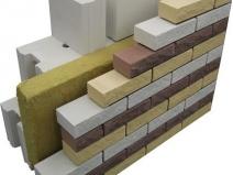 стены кирпичной бани в разрезе