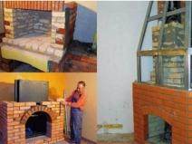 Строим камин на даче: этапы