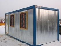 строительная бытовка металлическая