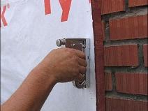 работа со строительным степлером