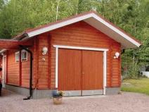 строительство деревянного гаража