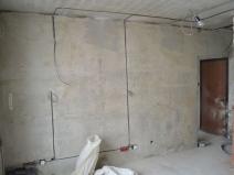Организация проводки в квартире панельного дома