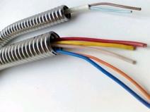электропроводка в трубах