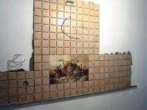 укладка плитки в зоне готовки