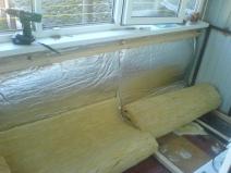 Еще один вариант утепления балкона