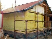 полимерный материал для утепления стен гаража