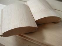 Планки блок-хауса для отделки бани