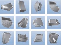 металлические элементы вентиляции