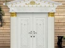 Красивые деревянные входные двери