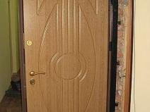 Металлическая входная дверь с обшивкой мдф
