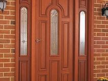 Входная дверь с усилением