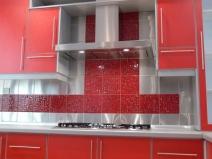 кафельная плитка для кухни в тон мебели