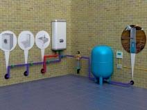 Схема подключения приборов к водопроводу