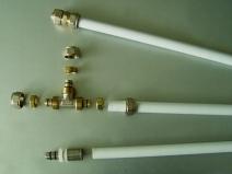 Водопроводные металлопластиковые трубы