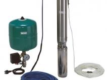 Конструкция насоса для водоснабжения из скважины