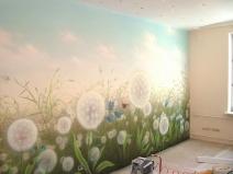 Художественная роспись стен фото