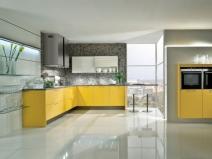 заливной пол на кухне